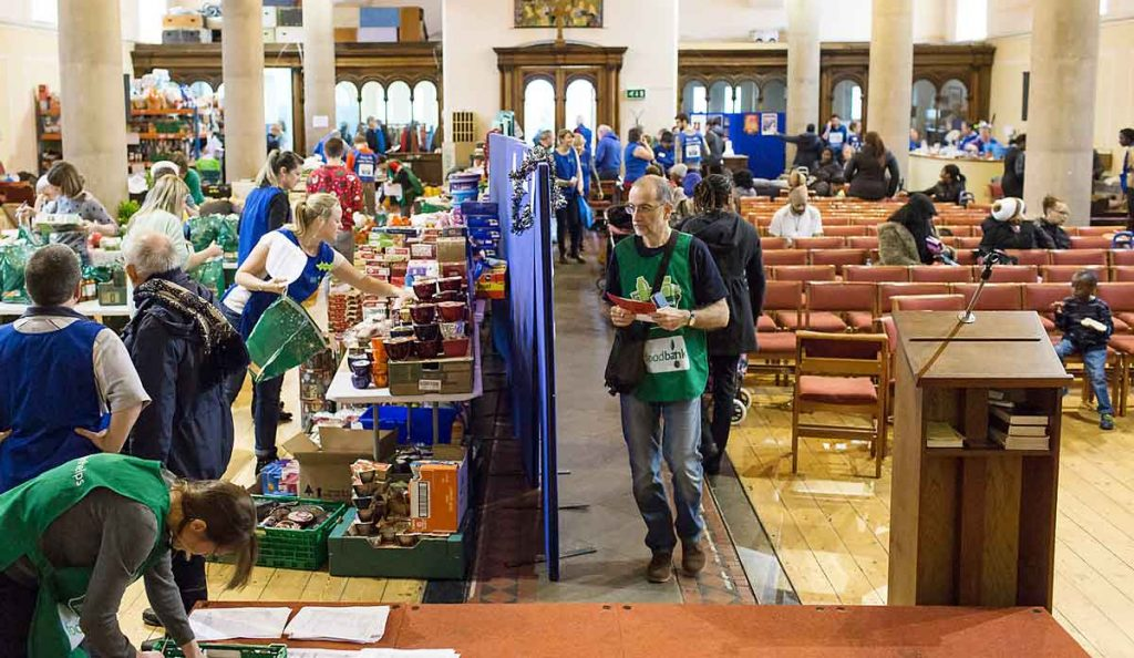 Norwood and Brixton foodbank