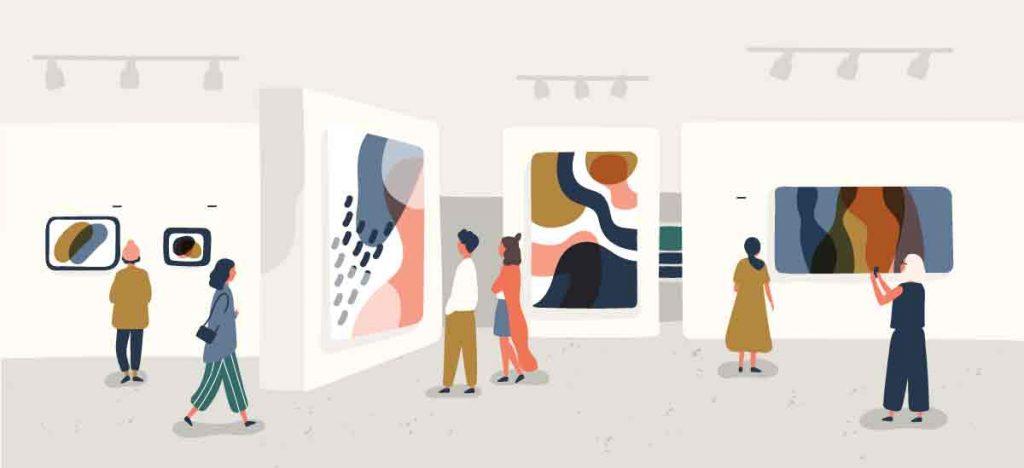 art show illustration