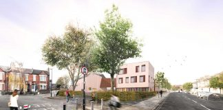 Architect impression Mandrell Road school