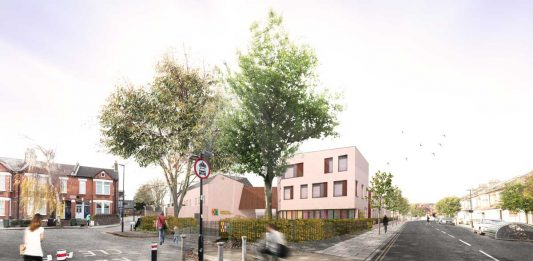 Architect impression Mandrell Road school