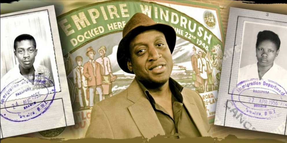 Flyer for Adrian Stone's Windrush workshops