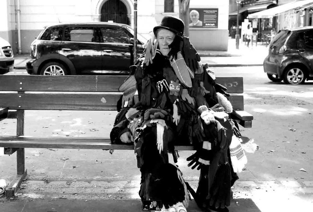 Mickey in a video by Chiara Ambrosio