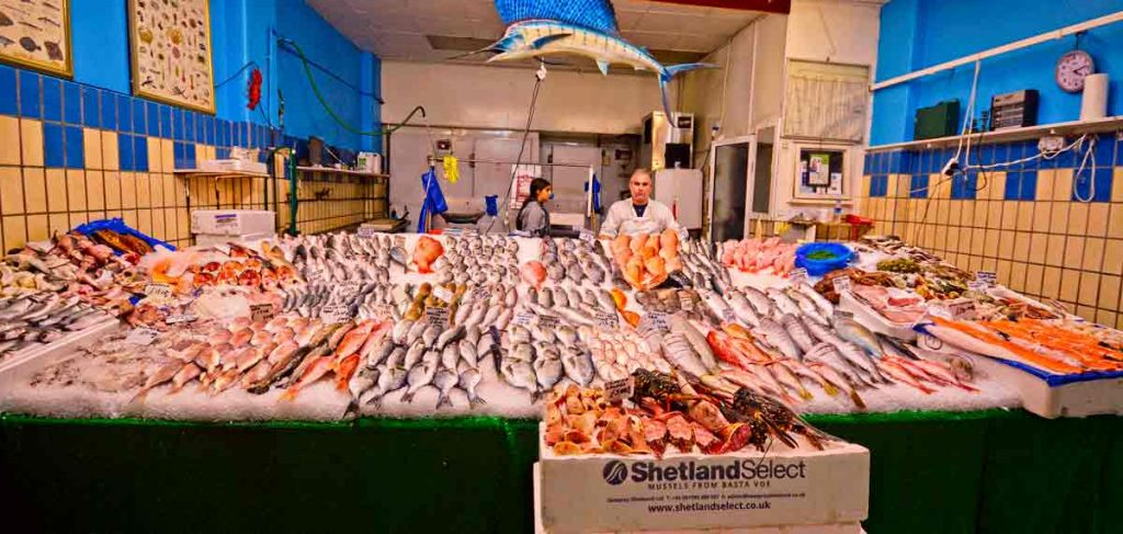Fishmonger Brixton Market