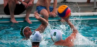 Waterpolo at Brockwell Lido