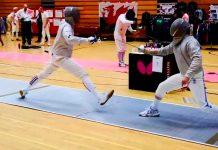 sabre fencers