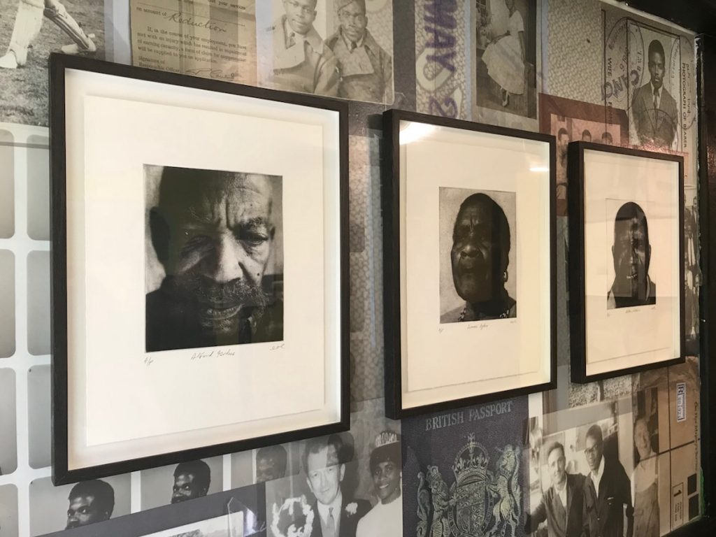 windrush generation elders photo etchings