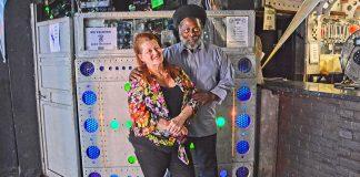 Louise Barron and Tony Pommell