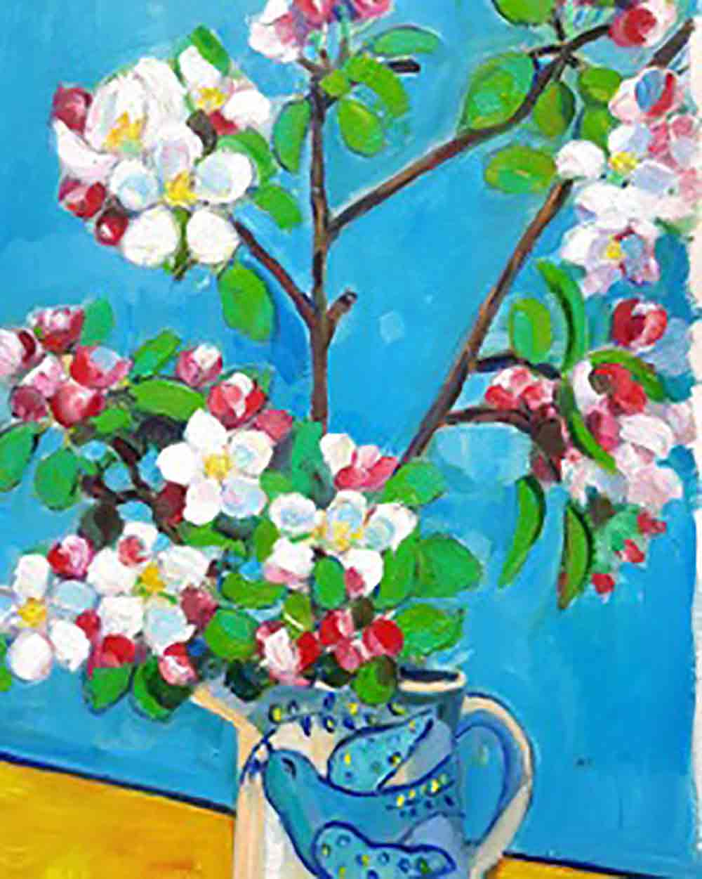 Apple Blossom JOHN BATESON-HILL (self taught)