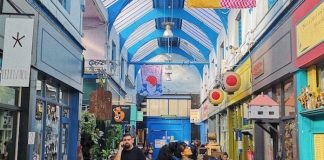 interior of Brixton Village
