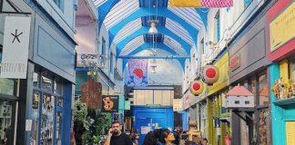 interior of Brixton Village