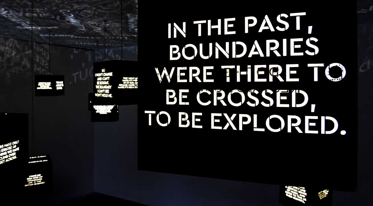 Boundaries installation