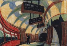 print of tube station