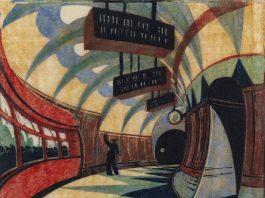 print of tube station