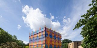 colourful outdoor structure