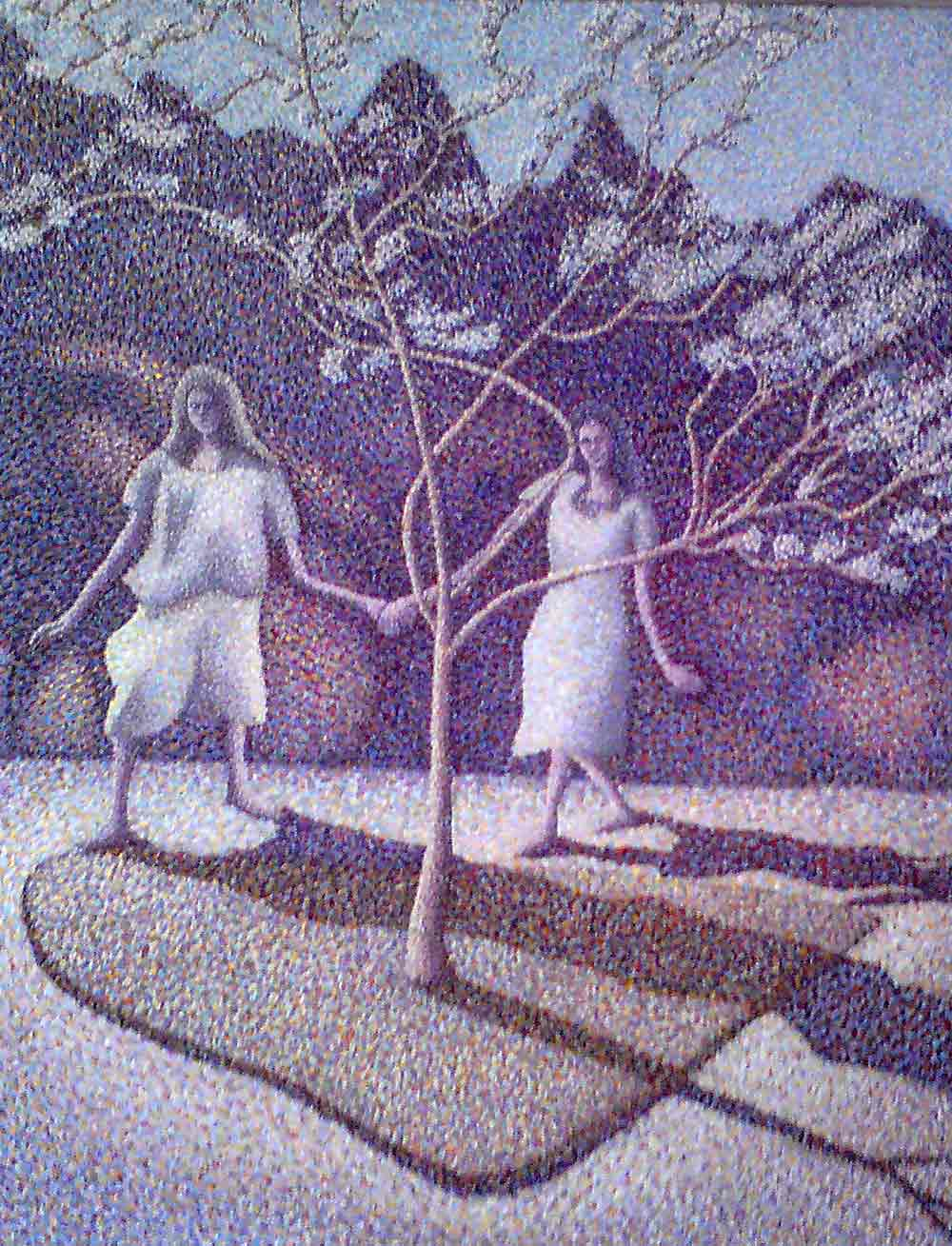 Figures with a Tree ANDY INSH (professional)