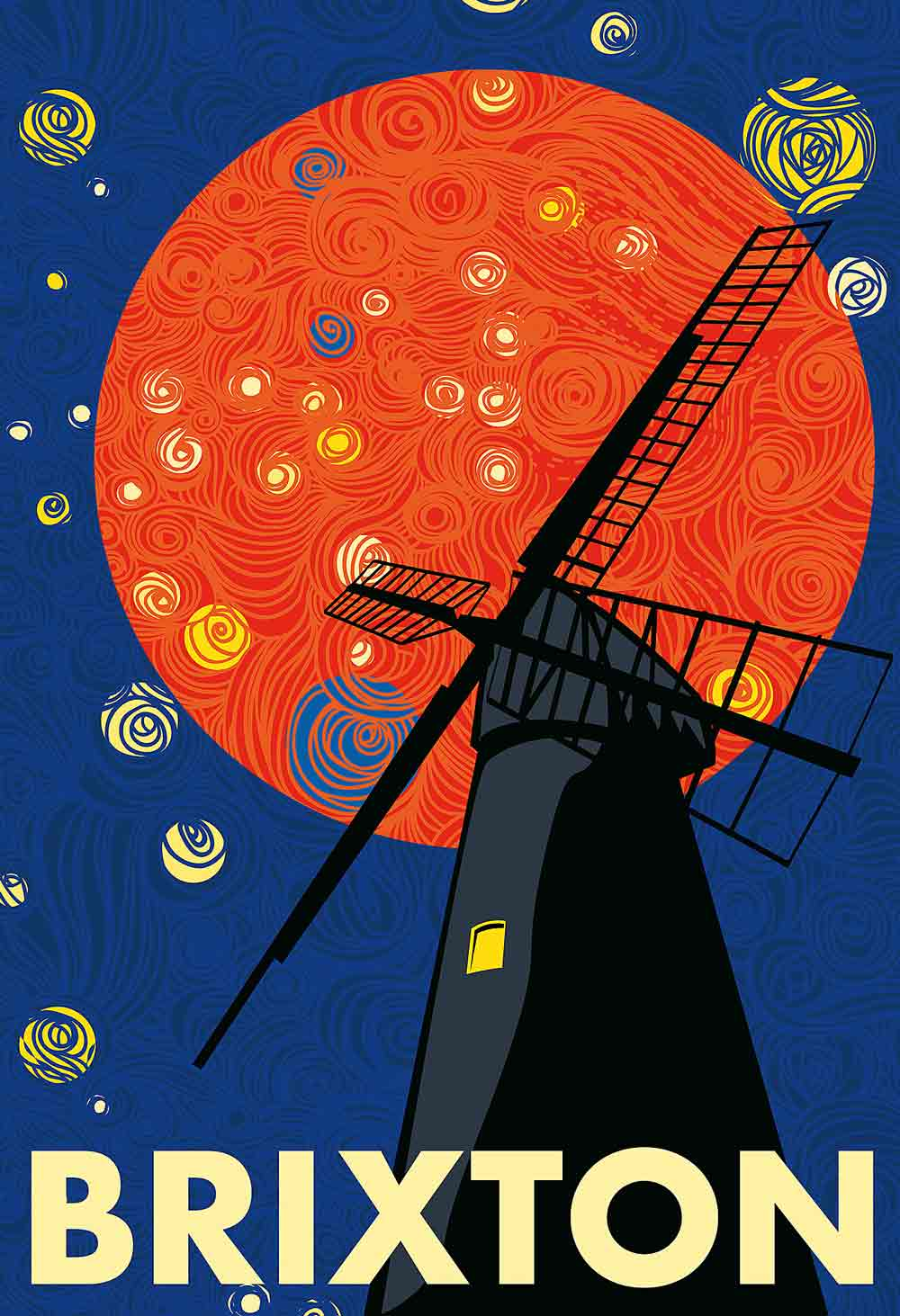 Windmill under the stars MATHANKI KODAVASAL (professional)