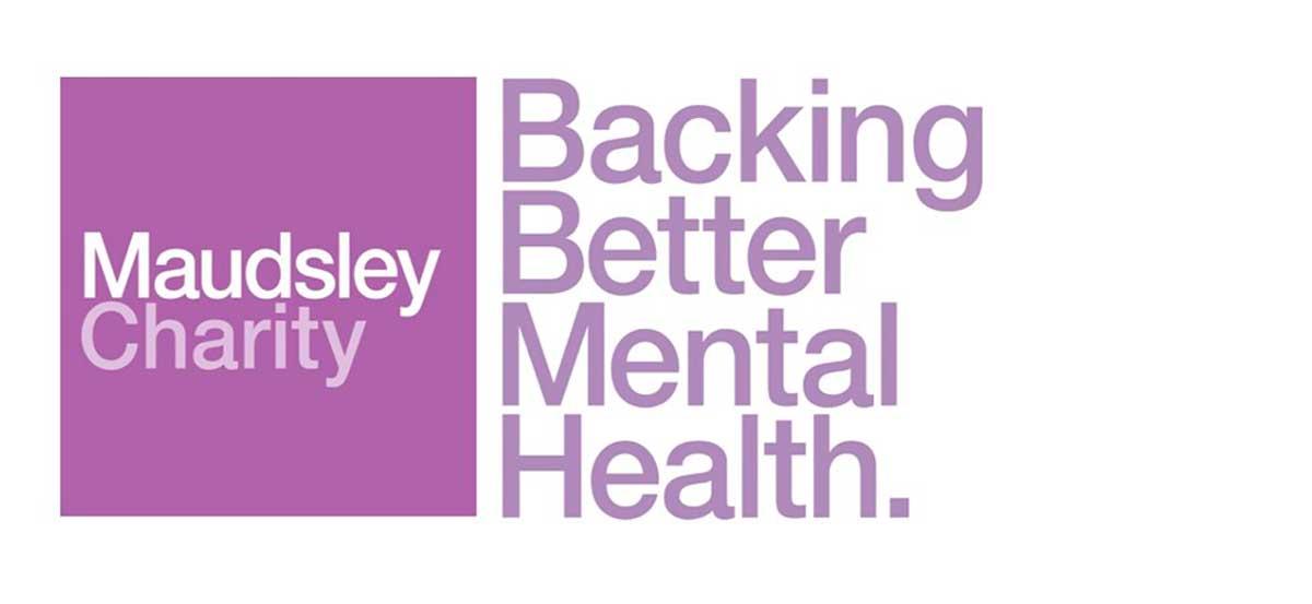 Maudsley Charity logo - backing better mental health