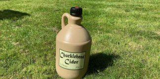 Chucklehead cider flagon