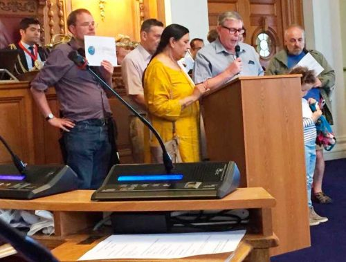 Residents of St Martin's estate testify to Lambeth council about damp