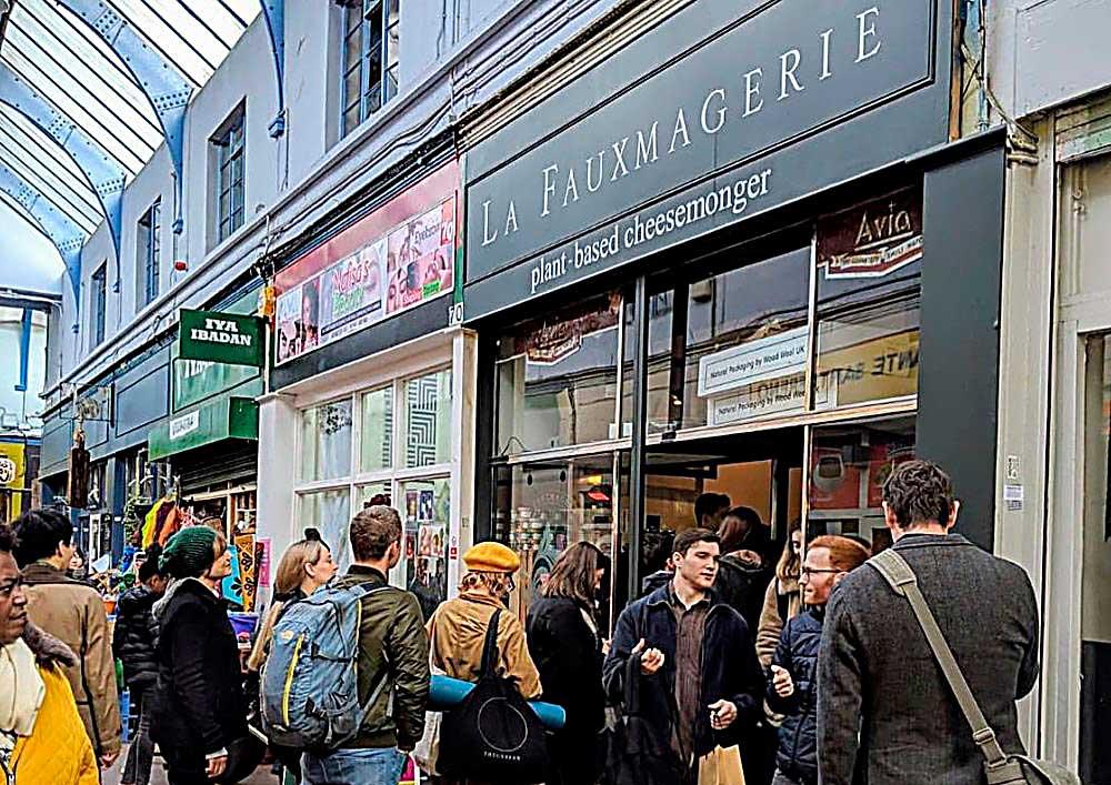 La Fauxmagerie in Brixton Market