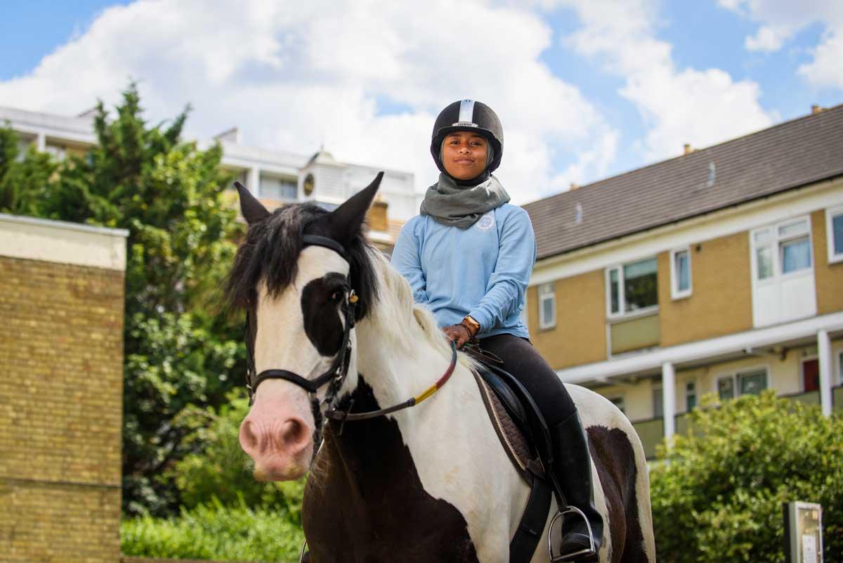 Khadijah Mellah at Ebony Horse Club in Brixton