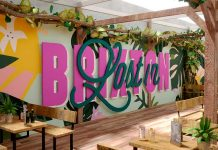 Logo for new bar Lost in Brixton in Brixton Village