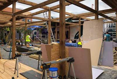 building work underway on new venue Lost