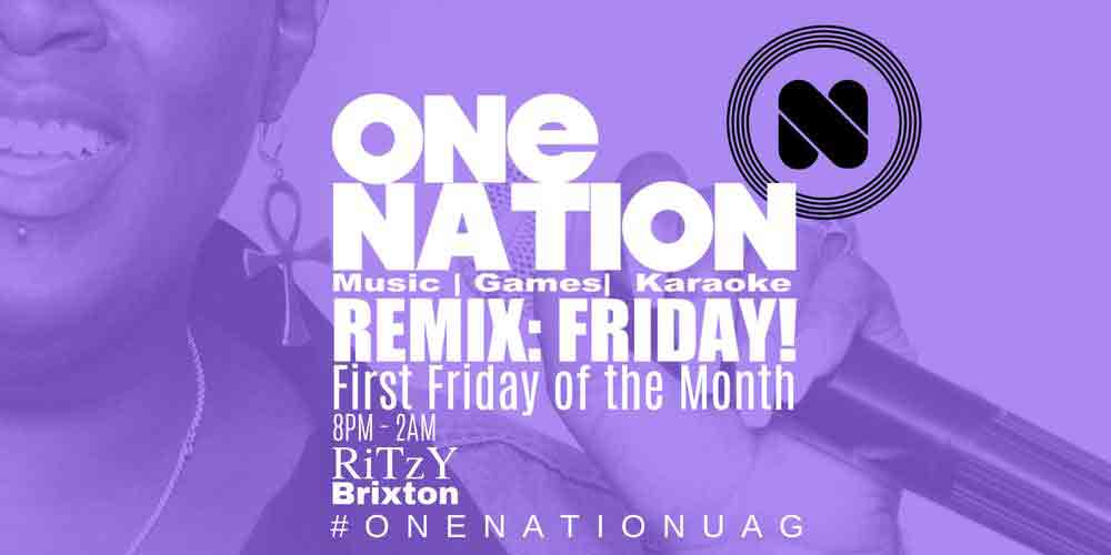 One Nation Remix flyer