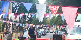 St Martin's Estate street party