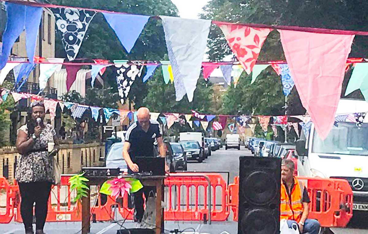 St Martin's Estate street party