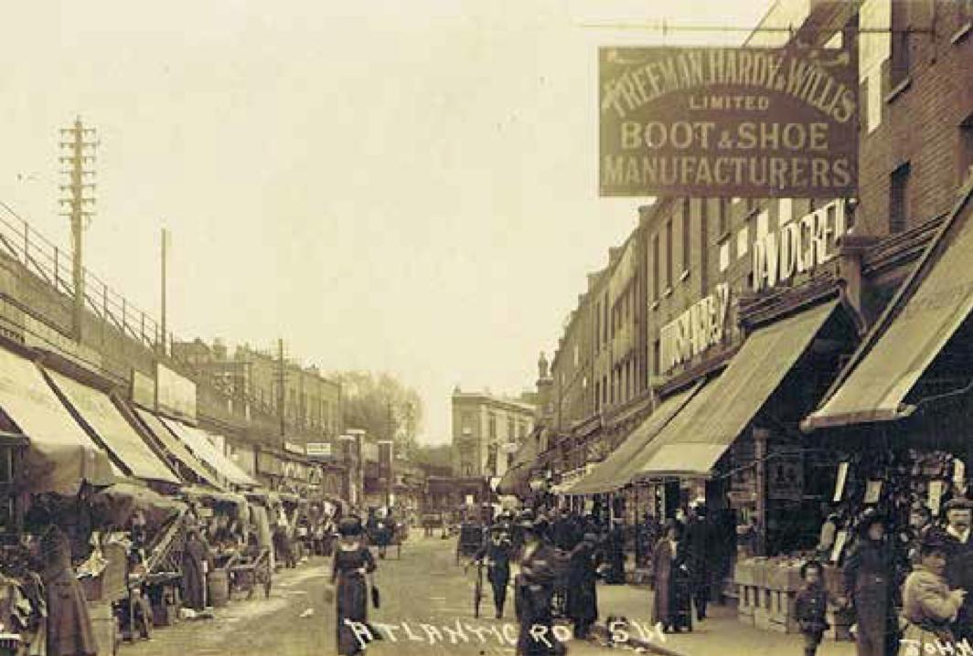 old photo of Atlantic Road