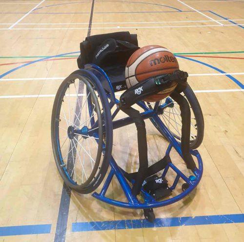 The stolen wheelchair