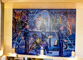 Brixton Blue mural