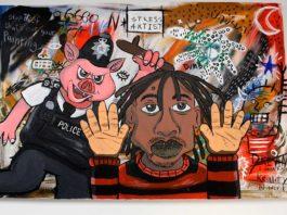 Painting by Djofray Makumbu
