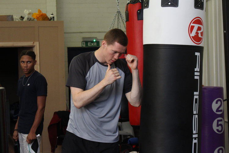 Dwaynamics boxing with punch bag