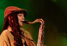 Keahnne Carlita Whitby 17-year-old sax player