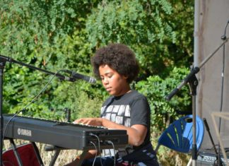 Images from the first JOM Micro Music Festival in Brockwell Park last year