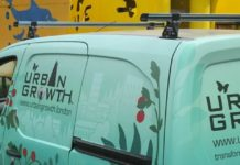 urban growth liveried van