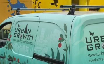 urban growth liveried van