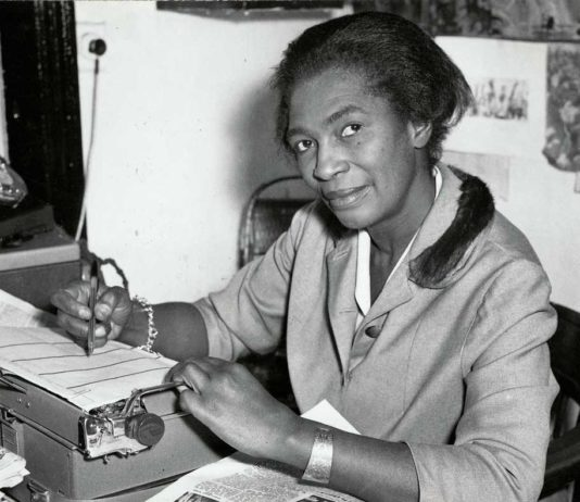 Claudia Jones founder of Britain's first black owned newspaper