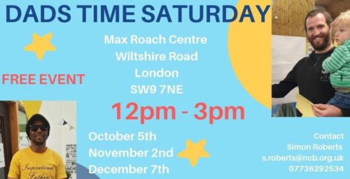 Dad's Time Saturday @ Max Roach Centre | England | United Kingdom
