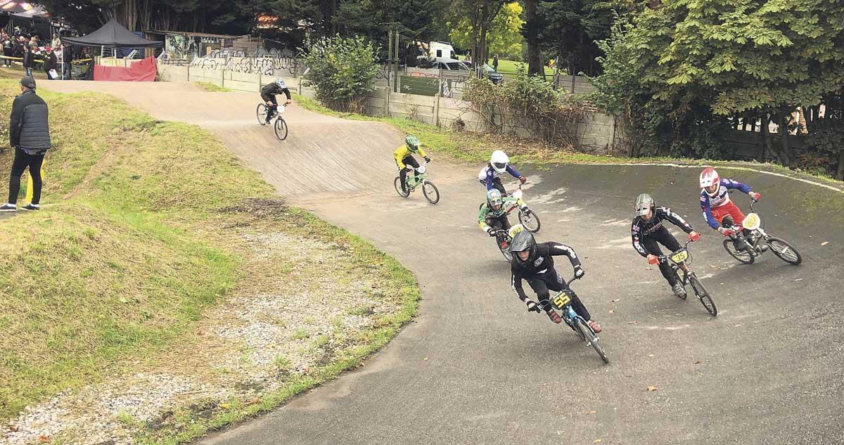 BMX racing at Brockwell Park
