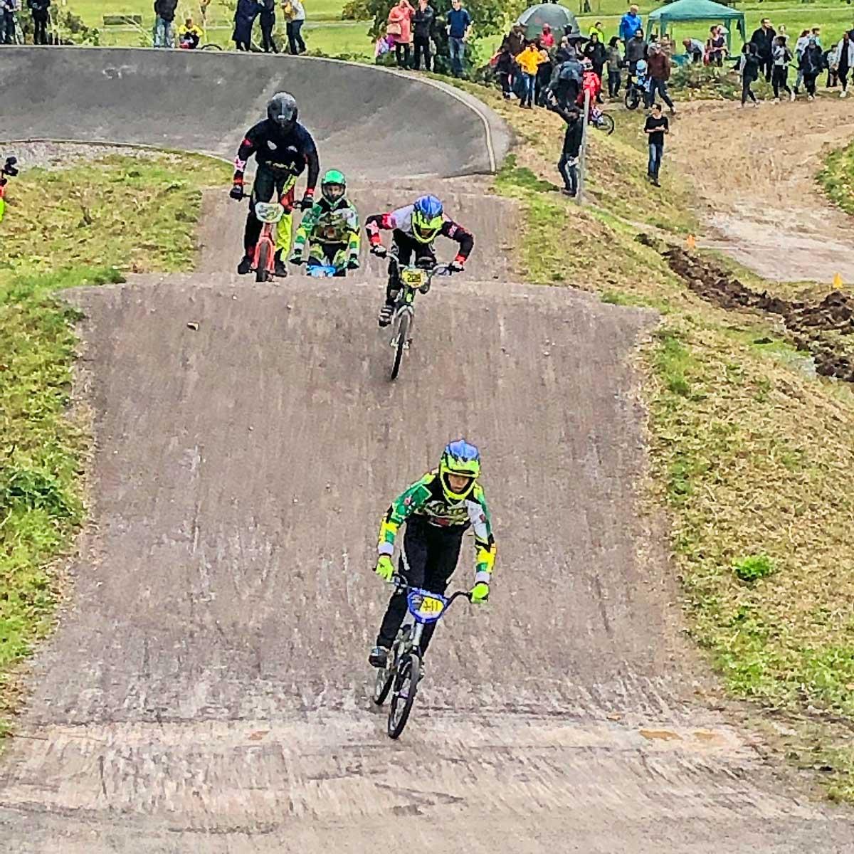 Brixton BMX winning at Brockwell Track