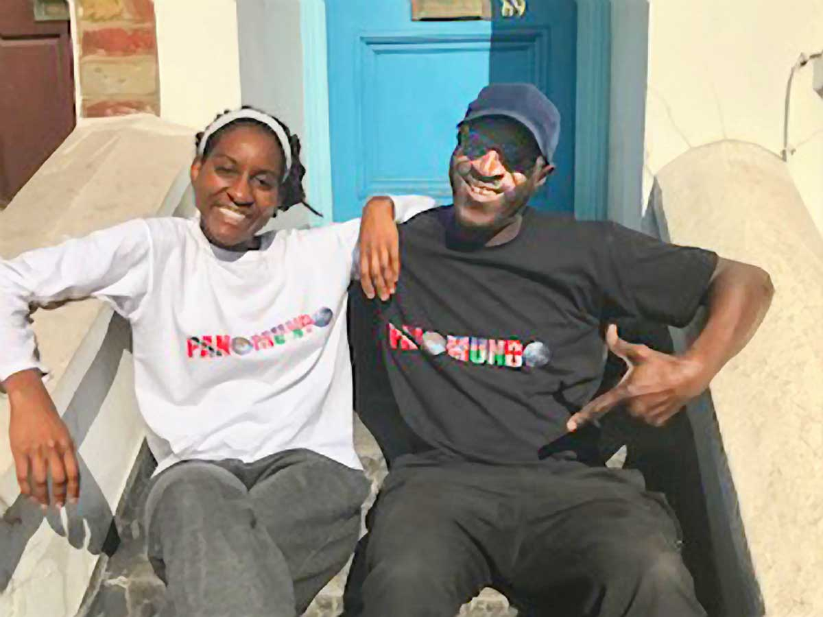 Film makers Keith and Charysee