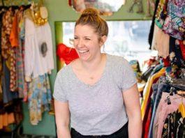 Sarah of Make Do and Mend at Pop Brixton