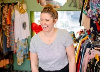 Sarah of Make Do and Mend at Pop Brixton