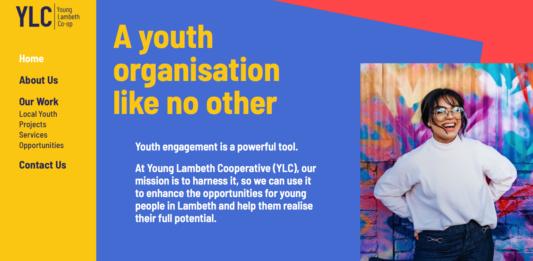 young Lambeth coop web screen shot