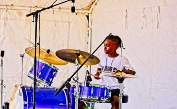 Malachi plays at September's Brockwell Park event