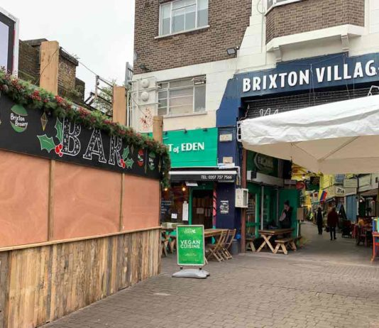 Brixton Village Courtyard