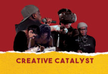 Flyer for Creative Catalyst development programme for BAME local talent